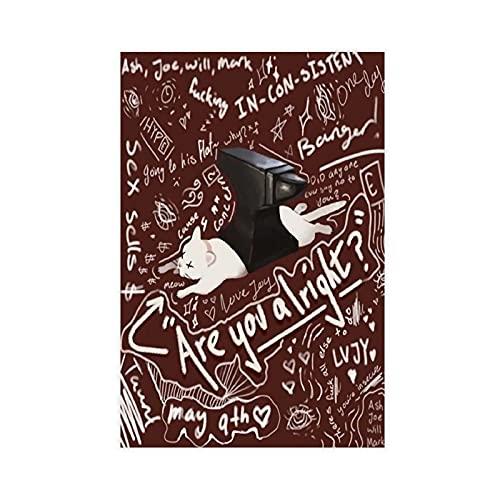 Lovejoy Are You Alright 2021 9 Canvas Poster Slaapkamer Decor Sport Landschap Kantoor Kamer Decor Gift Unframe:12x18inch…