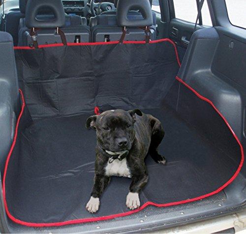 Heavy Duty, impermeabile universale 2-in-1 per bagagliaio per-Protezione per sedile posteriore auto, per cani e gatti-Amaca