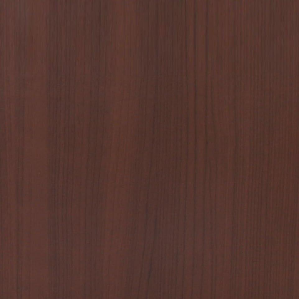 バルーン法廷暗殺するケイ?ララ 壁紙 木目 【壁紙シール6mセット】 壁紙シール はがせる クロス のり付き おしゃれ [nw-024:ダークブラウン] 幅50cm×長さ6m単位 ウォールステッカー DIY 壁紙 シール リメイクシート