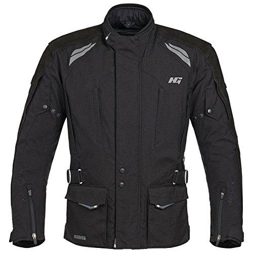 Hein Gericke Maxwell 7 sheltex® Performance Jacke schwarz 64 - Motorradjacke