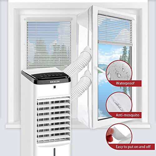 560CM Fensterabdichtung Für Mobile Klimageräte und Abluft-Wäschetrockner Hot Air Stop zum Anbringen an Fenster, Dachfenster, Flügelfenster