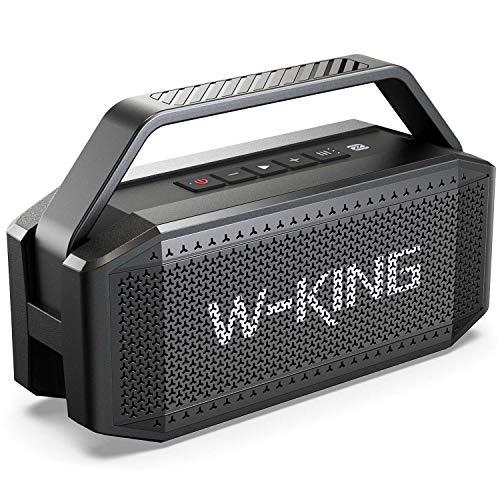 W-KING 60W Bluetooth Speaker - Portable Wireless Speaker with Built-In...