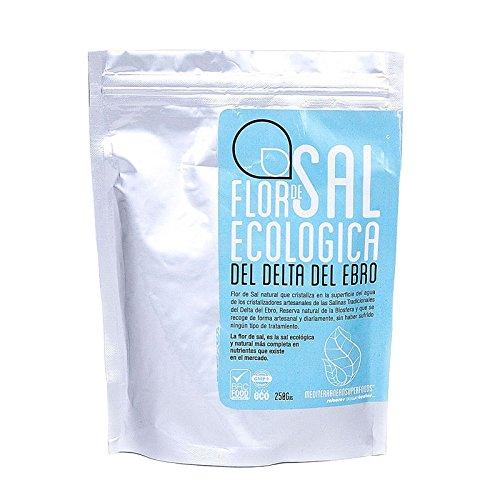 Energy Feelings Flor de Sal Ecológica Del Delta Del Ebro - 3x250 gr - Total: 750 gr
