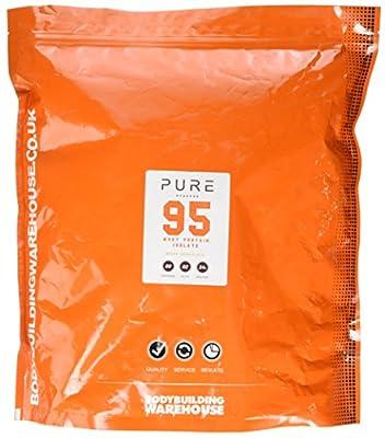 Bodybuilding Warehouse Pure Whey Protein Isolate 95 Powder White Chocolate 2 kg