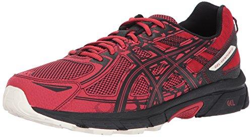 ASICS Men's Gel-Venture 6 Running Shoe, Lychee/Black/Whisper White, 14 Medium US