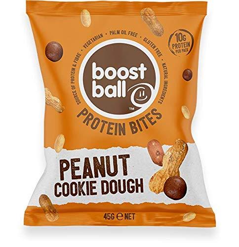 Boostball Protein Ball Peanut Butter Cookie Dough, 12x42g