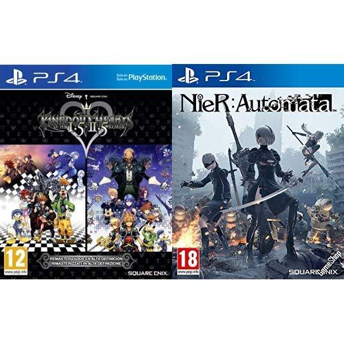 Kingdom Hearts HD 1.5 + 2.5 Remix & Nier Automata