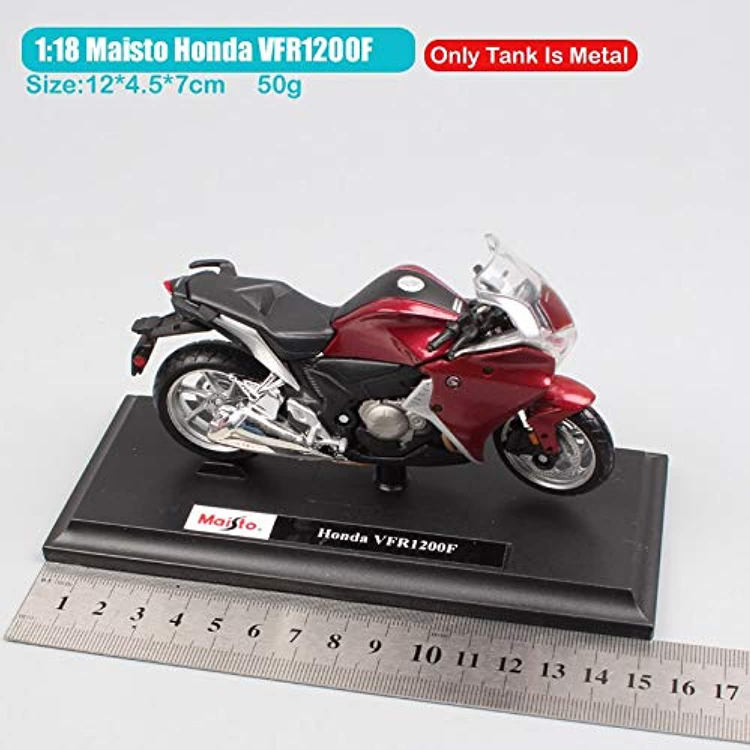 Generic 1 18 Scale Maisto Honda VF VFR1200F V4 Engine DCT Sport Touring Bike Motorcycle Racing die cast Toy Models Cars Vehicle Replicas Honda VFR1200F