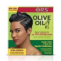 Organic Root Stimulator Olive Oil New Growth Relaxer by Organic Root Stimulator