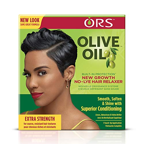 ORS Olive Oil Build-In Protection New Growth No-Lye Hair Relaxer - Extra Strength