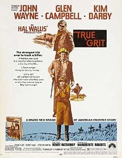 True Grit Poster Movie B 27x40 Jeremy Slate Dennis Hopper Alfred Ryder