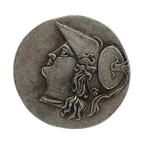 Sharplace Antike Griechische Silbermünze Sammelmünzen Gedenkmünzen Commemorative Coin Spielmünzen für Sammeln