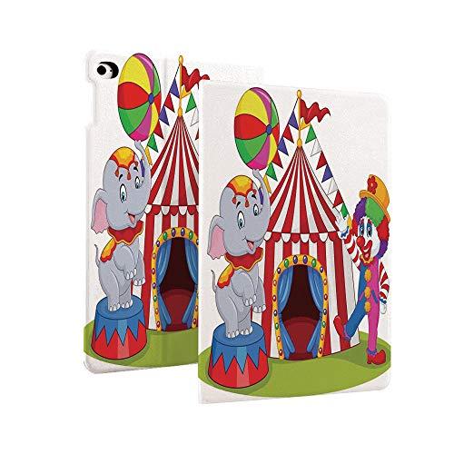 Circus Decor Case voor Nieuwe iPad 7e Generatie 10.2