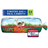 Kaytee Timothy Hay Plus, Carrots, 24-Ounce, Standard Packaging
