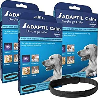 3 Pack ADAPTIL OnTheGo Collar for Dogs (Large)