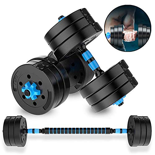 Hand Weights Dumbells Adjustable Dumbbells Set for Men or Women 10 15 20 30 40 Kg Non-Slip Comfortable Grip Professional Fitness Barbell Equipment for Training Arm Muscle Strength,20kg/44lb