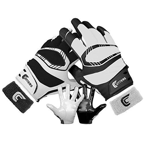 (カッターズ) Cutters メンズ アメフト グローブ Cutters Rev Pro Yin Yang Receiver Gloves 並行輸入品
