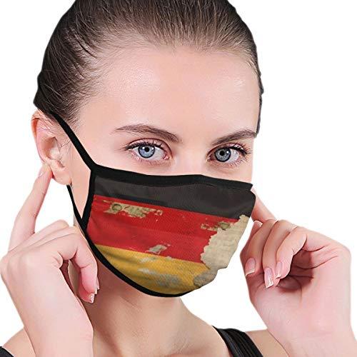 longdai Staubmaske für Erwachsene, alte Deutschland-Flagge, Unisex, wiederverwendbar, Nackenschutz, Sturmhaube, wiederverwendbar, multifunktionale Maske, für Damen und Herren