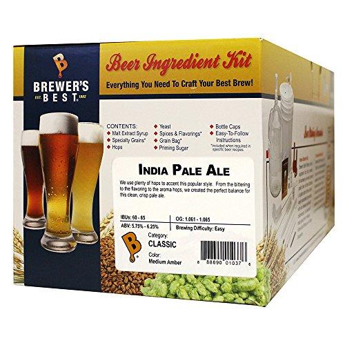 India Pale Ale Homebrew Beer Ingredient Kit Brewers Best