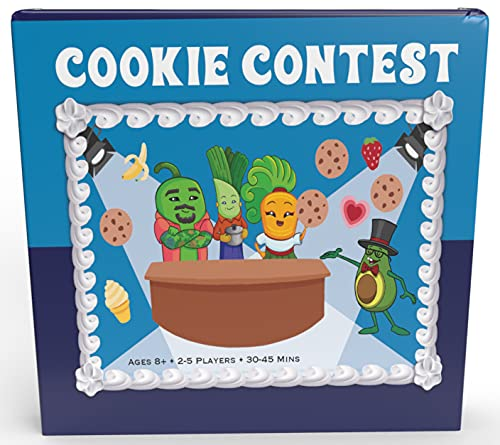 Ovid House Presents Cookie Contest | Card Game About Baking Cookies | Family Game