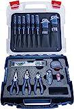 Bosch Professional 1600A016BW Set Herramientas de Mano, 25 cm, Azul