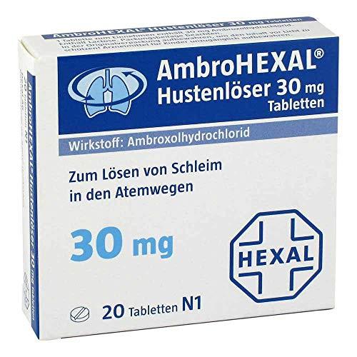 AmbroHEXAL Hustenlöser 30 mg, 20 St. Tabletten