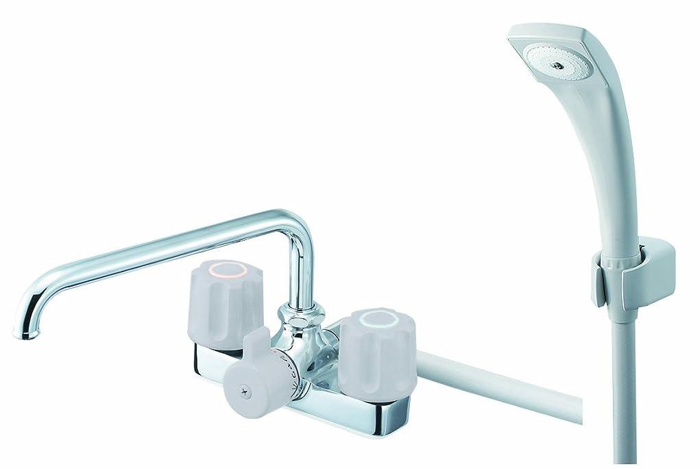 ビーチ読みやすい調和のとれたSANEI SANEI ツーバルブデッキシャワー混合栓 SK710-LH-13