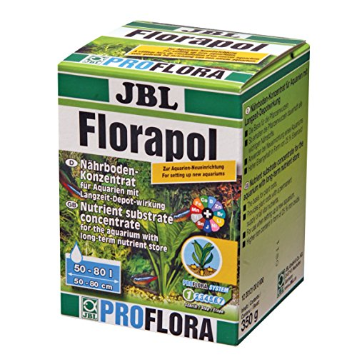 JBL PROFLORA Florapol 2012100 Langzeit-Bodendünger für Süßwasser Aquarien, 350 g