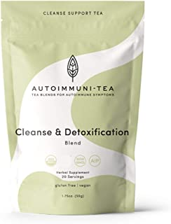 AIP Diet Herbal Tea - Liver Detoxification Tea Blend for Autoimmune Protocol, AIP, Whole 30, Paleo friendly - AIP diet Loo...