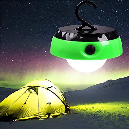 LED Camping Lumière Lumières Hanging Portable LED Tente Lanterne Camping pêche alimenté par Batterie d'urgence Lampe