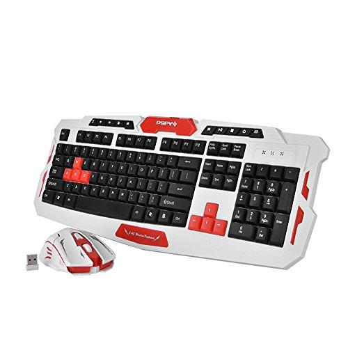 Set de teclado y ratón gamer sin cable fabricado por Vbestlife