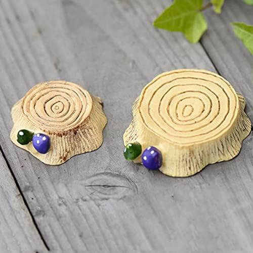 Miniature Mushroom Stump Resin Sales of SALE items from new works Bench Terrarium Figurines trust D Chair