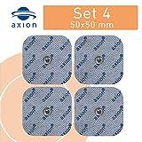 4 électrodes 45x45 mm pour électrostimulateurs BEURER SANITAS - électrostimulation tens ems