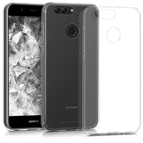 E-Hamii Hülle für Huawei Nova 2 Plus, Handyhülle Transparenter TPU Abdeckungs Fall, überlegener Silikon-Schutzhülle, Stoß-Stoßdämpfer & Anti-Kratzen, Leicht, wirtschaftlich & praktisch