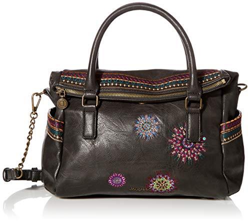 Desigual Damen Astoria Loverty Handtasche, schwarz, Einheitsgröße