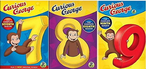 Curious George: The Complete Season 7, 8, and 9 Collection (The Final 3 Seasons)