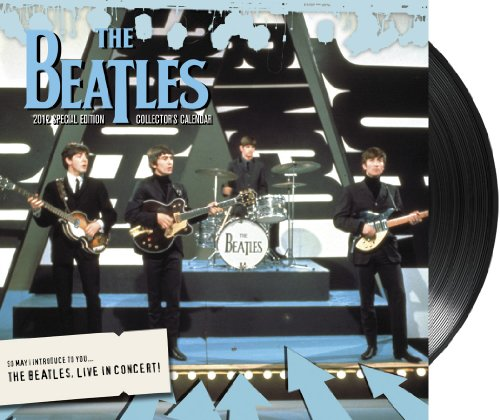 2012 The Beatles Special Edition Wall Calendar