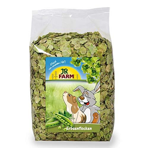 JR Farm Erbsenflocken 3kg | Ergänzungsfutter für alle Nager und Kaninchen | hoher Proteinanteil