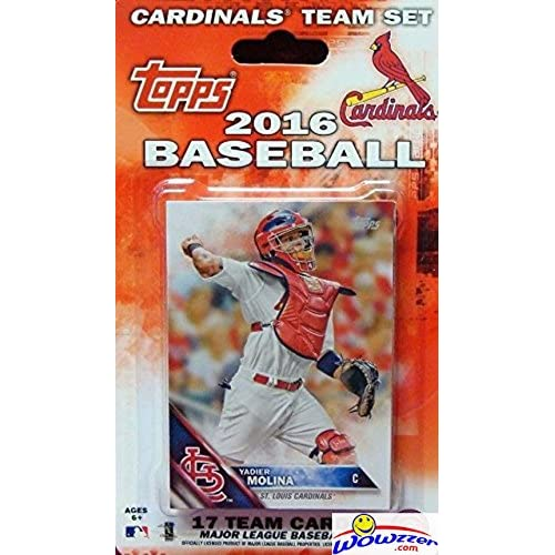31e9090f St Louis Cardinals 2016 Topps Baseball Factory Sealed EXCLUSIVE Special  Limited Edition 17 Card Complete Team