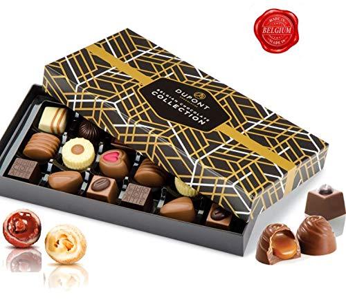 Le coffret de chocolats belges Dupont