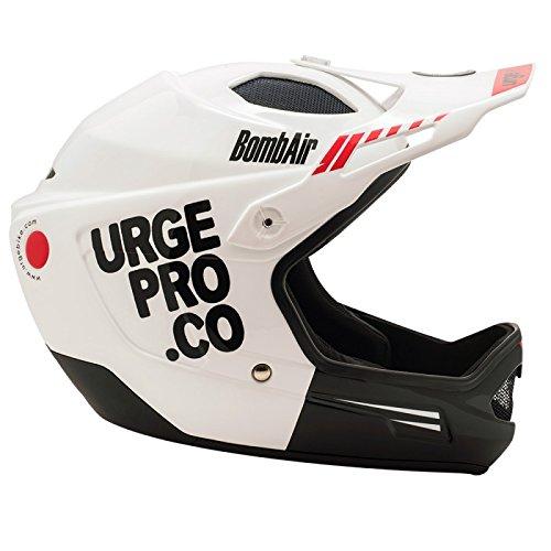 Urge BombAir - Casco integrale per mountain bike, unisex, da adulto