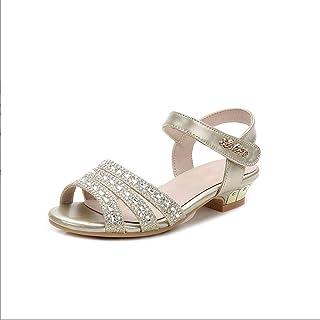 Children's Sandals Rhinestone Low Heel Princess Shoes Fashion Children's Shoes