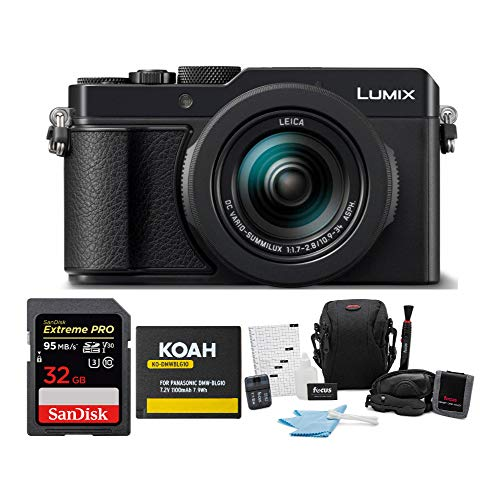 Panasonic LUMIX LX100 II 17MP Digital Zoom Camera...