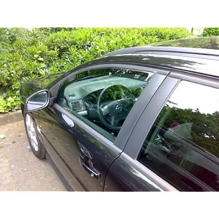 Zentimex Z905834 Windabweiser Regenabweiser Acrylglas Dunkelgrau Für Vorne Auto