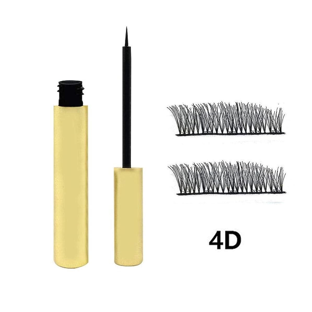 提唱するクアッガ風が強い磁気アイライナーセット 3Dつけまつげ 磁気アイライナー 磁気まつげキット 防水 長持ちアイライナーつけまつげ 磁気液体 高速乾燥 使い易い 長持ち 初心者 美容院 化粧品 ID3454