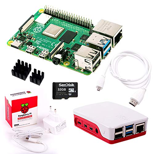 InnoConnect Raspberry Pi 4 (2GB RAM) Bundle 32GB, weiß