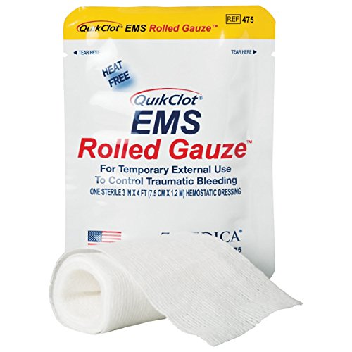 QuickClot EMS Mullwindel