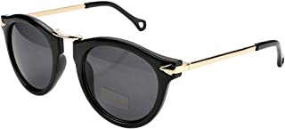 نظارات شمسية نسائية بتصميم دائري على شكل سهم من فيسيدي، لون حلوى B2427