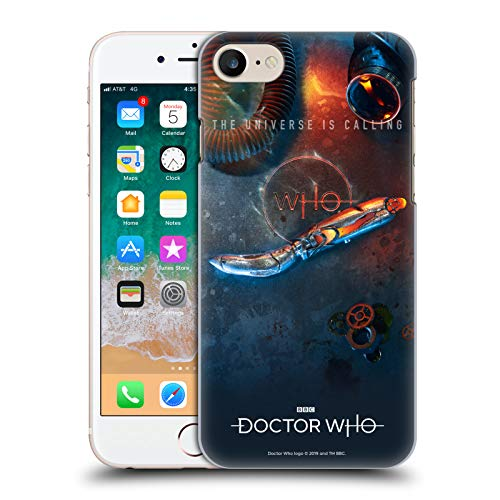 Officiële Doctor Who Sonic schroevendraaier Seizoen 11 Key Art Hard Back Case Compatibel voor Apple iPhone 7 / iPhone 8