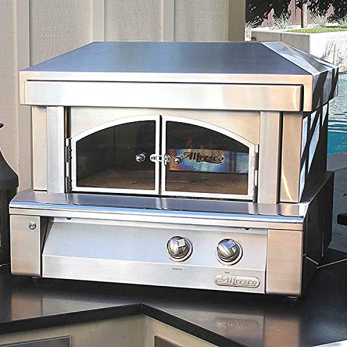 Alfresco Countertop Pizza Oven (Axe-PZA-LP), Propane, 30-Inch